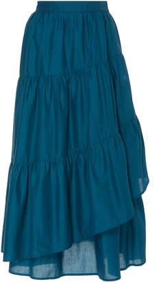 Merlette Hallerbos Cotton Maxi Skirt