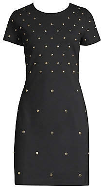 MICHAEL Michael Kors Women's Stud Sheath Dress