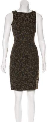 Michael Kors Printed Sheath Dress