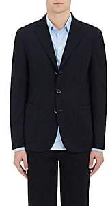 Barena Venezia Men's Stretch-Wool Three-Button Sportcoat-Navy