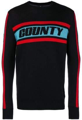 Marcelo Burlon County of Milan colour band sweater