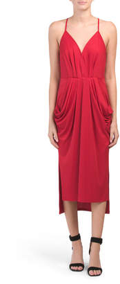 Drapey Pocket Knit Dress