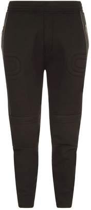 Neil Barrett Ribbed Detail Biker Sweatpants