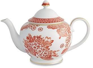 Oscar de la Renta by Vista Alegre Coralina Porcelain Tea Pot