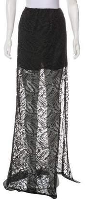 Baja East Lace Maxi Skirt w/ Tags