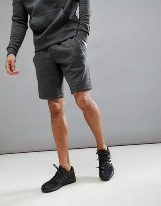 adidas Athletics stadium shorts in gray cf2514