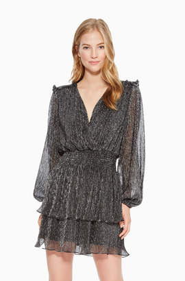 Parker Brianna Metallic Dress