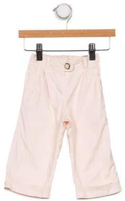 Chloé Girls' Woven Wide-Leg Pants