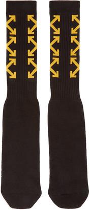 Off-White Black Arrows Socks $45 thestylecure.com