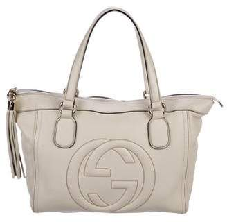 Gucci Small Soho Leather Tote