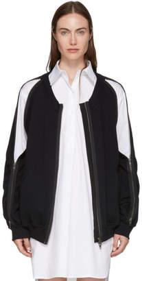 Ann Demeulemeester SSENSE Exclusive Black Roger Bomber Jacket