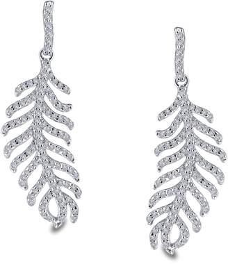 Lafonn Simulated Diamond Feather Drop Earrings