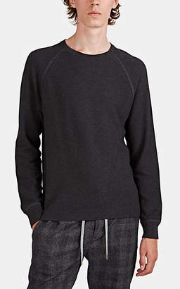 James Perse Men's Thermal-Stitched Cotton T-Shirt - Gray
