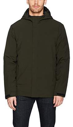 32 Degrees Men's Winter Rain Jacket with Down Insulation