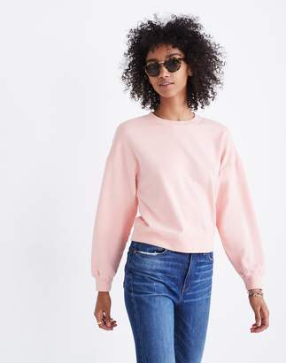 Madewell Rivet & Thread Crop Sweatshirt