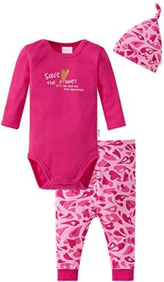 Schiesser Baby Girls' 159239 Lingerie Set,Pack of 3