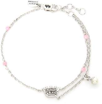Juicy Couture Beaded Crown Luxe Wishes Bracelet