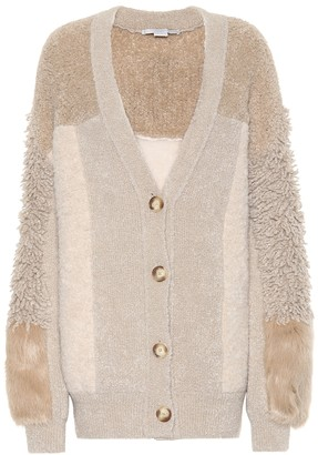 Stella McCartney Wool-blend cardigan