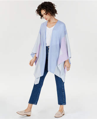 Charter Club Colorblocked Cashmere Wrap