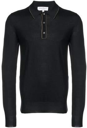 Salvatore Ferragamo longsleeved polo shirt