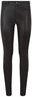 SET Skinny Leather Trousers