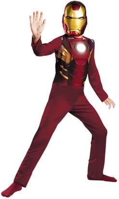 Disguise Iron Man Mark 7 Avengers Basic Kids Costume 4-6 Halloween Costume