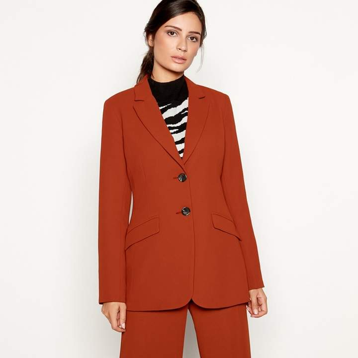 Dark Tan 'Tobacco' Suit Jacket