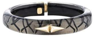Alexis Bittar Hinged Lucite Bangle