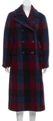 3.1 Phillip Lim Plaid Wool Coat