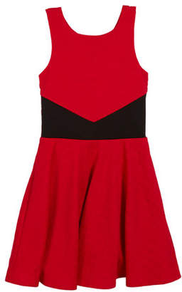 Sally Miller The Scarlet Jacquard Sleeveless Dress, Size S-XL