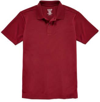 Izod EXCLUSIVE Performance Short Sleeve Polo - Preschool Boys 4-7
