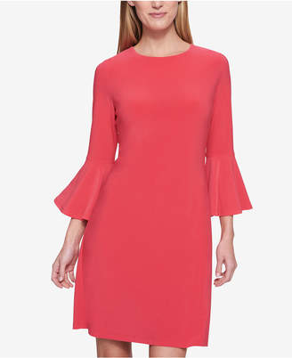 Tommy Hilfiger Bell-Sleeve Sheath Dress