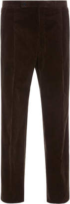 Camoshita Corduroy Box Pleat Dress Pants