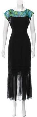 Jonathan Saunders Silk Chiffon Dress