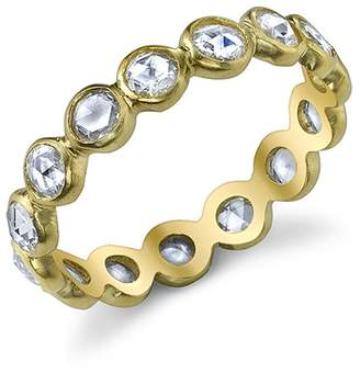 Irene Neuwirth Rose Cut Diamond Ring Band - Yellow Gold