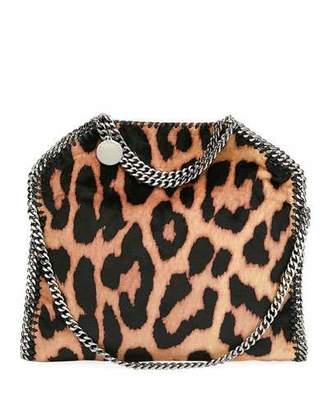 Stella McCartney Falabella Three-Chain Leopard Tote Bag