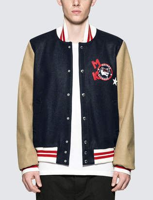 MAISON KITSUNÉ Bicolor Teddy Jacket