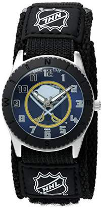 """Game Time Unisex NHL-ROB-BUF""""Rookie Black"""" Watch - Buffalo Sabres"""