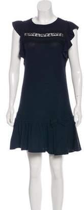 RED Valentino Mini Lace-Accented Dress