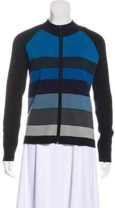 Sonia Rykiel Wool-Blend Long Sleeve Knit Jacket