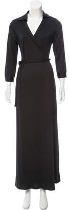 Julie Brown Wrap Maxi Dress w/ Tags