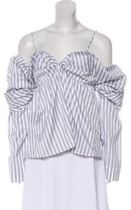 Petersyn Striped Long Sleeve Top w/Tags