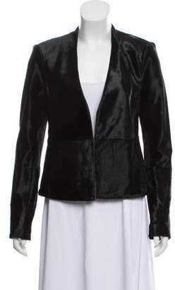 J Brand Leather Casual Blazer w/ Tags
