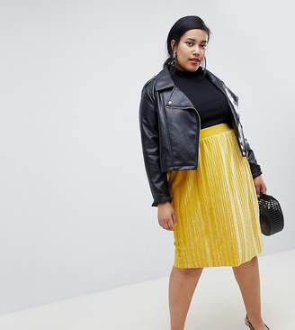 Junarose velvet flippy skirt