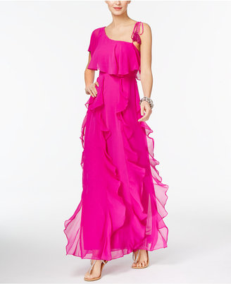 INC International Concepts Popsicle® One-Shoulder Maxi Dress, Only at Macy's $129.50 thestylecure.com
