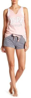 U.S. Polo Assn. Pajama Shorts Set