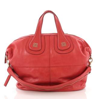 Givenchy Nightingale Red Leather Handbags