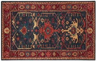 Pottery Barn Channing Persian-Style Rug - Indigo