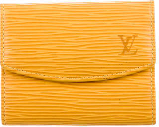 Louis Vuitton Louis Vuitton Epi Business Card Holder