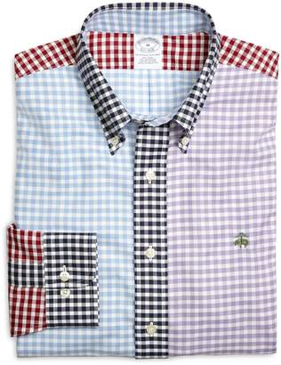 Brooks Brothers Supima Cotton Non-Iron Slim Fit Gingham Fun Oxford Sport Shirt
